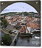 Cesky Krumlov  Acrylic Print