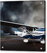 Cessna Ground Acrylic Print
