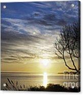 cf 519 A Sunset Over Monterey Bay Acrylic Print
