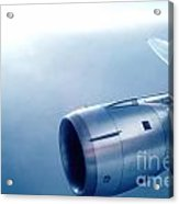 Cf6-6 Jet Engine For A Dc-10 Acrylic Print by Wernher Krutein