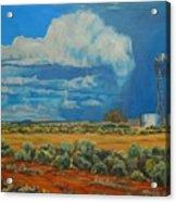 Chaco Storm Acrylic Print