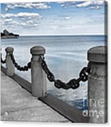 Chain Linked Acrylic Print
