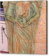 Chained Angel Acrylic Print