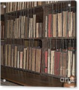 Chained Library At Hereford Cathedral Acrylic Print