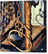 Chained Acrylic Print