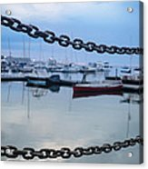 Chains Over The Water Acrylic Print