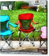 Chair Family Acrylic Print