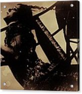 Chair Of Insanity Acrylic Print