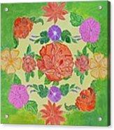 Chaitra Mandala Acrylic Print