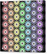 Chakra Healing Grid Acrylic Print