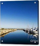 Challenger Harbour Of Fremantle Acrylic Print