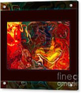 Challenges And Moments In Time Abstract Healing Art Acrylic Print