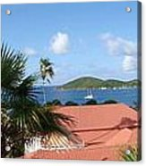 Chalotte Amalie Bay Acrylic Print