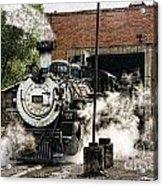 Chama Steam Acrylic Print
