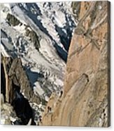 Chamonix Aiguilles, French Alps Acrylic Print