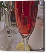 Champagne Brunch Acrylic Print