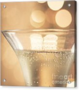 Champagne Celebration Acrylic Print by Kim Fearheiley
