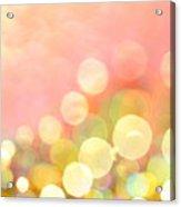 Champagne Supernova Acrylic Print
