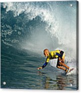 Champion At Pipeline Masters  Acrylic Print