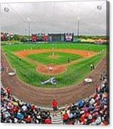 Champion Stadium II Acrylic Print by C H Apperson