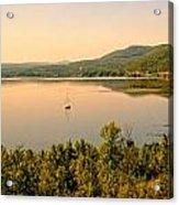 Champlain Viewed From Ticonderoga Acrylic Print