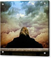 Chance Of Rain First Panel  No Umbrella Acrylic Print