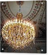Chandelier At Palace Acrylic Print
