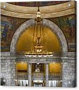 Chandelier At State House Acrylic Print