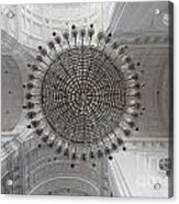 Chandelier In Goa Cathedral Acrylic Print