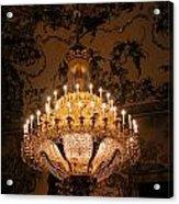 Chandelier Palacio Real Acrylic Print