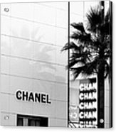 Chanel On Rodeo Drive Acrylic Print