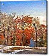 Change Of Seasons Acrylic Print by Lois Bryan