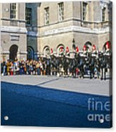 Changing Of The Horse Guard  Acrylic Print