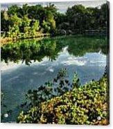 Chankanaab Mexico Lagoon Acrylic Print