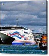 Channel Islands Ferry Acrylic Print