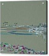 Channel Islands Harbor Acrylic Print