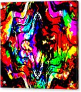 Chaos In My Mind Acrylic Print