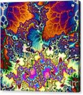 Chaos Of Unrealized Ideas Acrylic Print
