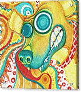 Chaotic Canine Acrylic Print
