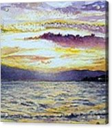 Chapala Sunset Acrylic Print
