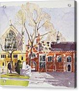 Chapel And Hall  Lincoln's Inn Acrylic Print