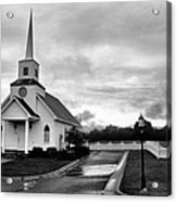 Chapel At Four Winds In Conway Arkansas Acrylic Print