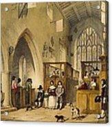 Chapel At Haddon Hall, Derbyshire Acrylic Print