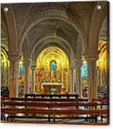 Chapel At Notre Dame Cathedral Verdun Acrylic Print