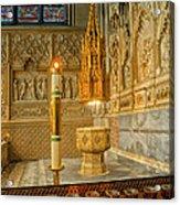 Chapel At Saint Patricks Cathedral Acrylic Print