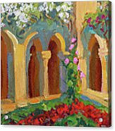 Chapel At St. Remy Acrylic Print