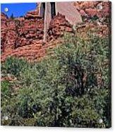 Chapel In Red Rocks Acrylic Print
