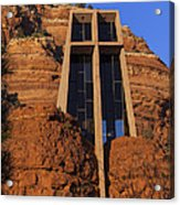 Chapel In The Rock Acrylic Print