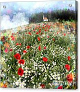 Chapel Of Colors Acrylic Print