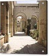 Chapel Of Condemnation Jerusalem Acrylic Print